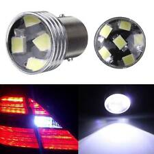 2x HID White BA15S 1156 P21W 6-2835-SMD LED Projector Bulb Backup Reverse Light