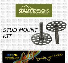 SeaLect Designs STUD MOUNT KIT for Kayak Footrests Foot Pegs Footbrace footrest