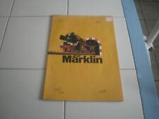 ancien catalogue Marklin 1973