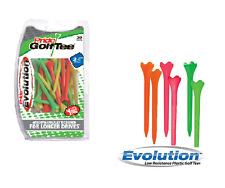 "EVOLUTION | Golf Tees 3 1/4"" (83 mm) | Citrus Mix | 30 count"