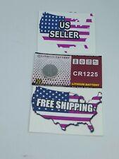 CR1225 Watch Battery CR 1225 50mAh 3V Lithium Battery .Q 1 FREE SHIP. USA Seller
