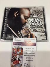 RICK ROSS THE BOSS PORT OF MIAMI JSA SIGNED RARE CD ALBUM RATHER YOU THAN ME COA