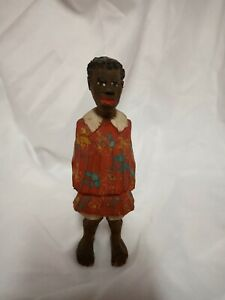 ADRIAN R.WOODALL (1888-1969) Folk Art Carved and Painted Wood Figure
