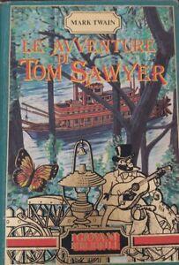 Le avventure di Tom sawyer libro 1985 giovani bibliofili mark Twain Peruzzo edit