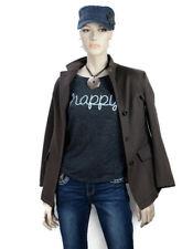 Loro Piana Womens Storm System Cashmere 3 Button Jacket Sz 40 Brown Blazer Italy