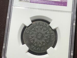 1785 Nova Constellatio  NGC VF Details Large Date Pointed Rays