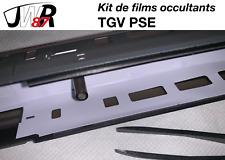 TGV PSE HJ Jouef Lima Collection - Kit de films occultants éclairage intérieur