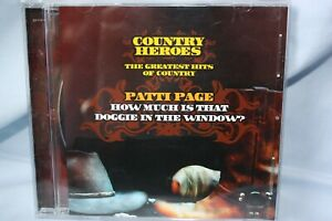 """""""Country Heroes"""" CD - PATTI PAGE """"How much is that Doggie in the Window?"""""""