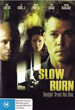 SLOW BURN Ray Liotta / LL Cool J Mekhi Phifer DVD - PAL R4