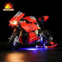 Brick Shine-LED Light Kit for Lego Ducati Panigale V4 R 42107(TopRated Seller)