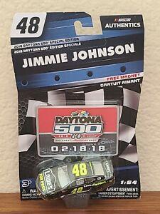 2018 Daytona 500 Wave Jimmie Johnson Lowe's for Pros 1/64 NASCAR Authentics