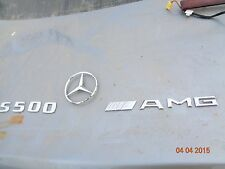 2000-2006 Mercedes-Benz W220 S500 AMG STAR badge logo decal S430 S280 S350 S350