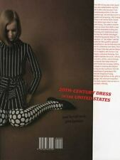 20th Century Dress in the United States by Jane Farrell-Beck and Jeanette...