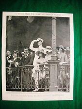 Nel 1921 Rio de Janeiro duca di Spoleto dottor Pessoa + Renato Fucini