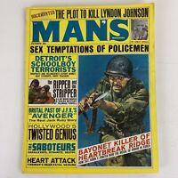 Man's Magazine Oct 1964 Men's Pulp Bayonet Killer Of Heartbreak Ridge