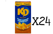 24 - 200g Boxes KD Sharp Cheddar KRAFT DINNER Canadian Made FRESH