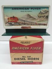 S Gauge American Flyer by Gilbert No.561 Diesel Horn