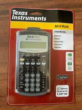 (Texas Instruments) Advanced Financial Calculator (BA II Plus)