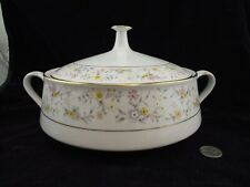 CONTEMPORARY NORITAKE DELEVAN 2580 COVERED ROUND VEGETABLE SERVING BOWL WITH LID