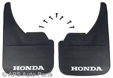 Universal Car Mudflaps Front Rear Honda Branded Insight HR-V FR-V Mud Flap Guard