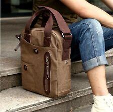 Men's Vintage Canvas Shoulder Messenger Bag Satchel Sling School Hiking Bag