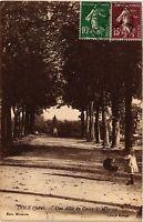 CPA DOLE Une Allée du Cours St Maurice (447200)