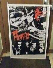 MISFITS POSTER GLEN DANZIG WHO SHOT KENNEDY RARE LIMITED PRODUCTION