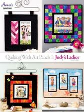 Quilting Pattern Book ART PANELS 1, JODY'S LADIES ~ 4 Fun Whimsical Designs