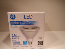 GE LED PAR38 18W 4000K  25*Narrow Floodlight  1700 LUMENS 25,000 hrs DIMMABLE