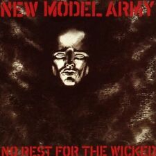 CD Album New Model Army : No Rest for the Wicked (Mini LP Style Card Case)