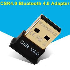 USB Bluetooth V4.0 Nano Dongle Wireless Adapter EDR Win 7 Vista XP CSR 4.0