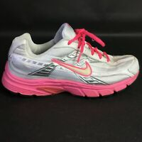 Nike Initiator Running Shoes Womens Size 11 White Hot Pink Sneakers 394053-106