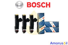 3 iniettori Bosch FIAT MULTIPLA 1.6 Bipower - Natural Power