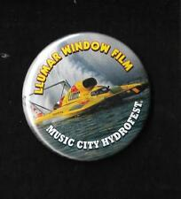 "Llumar Window Film ~ Music City Thunderfest 2 1/2 "" Unlimited Hydroplane Button"