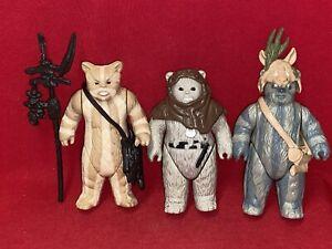Vintage Star Wars Lot of Figures.......EWOKS