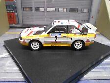 AUDI Quattro Sport Rallye Tour de Corse 1984 #2 Röhrl Trofeu  H B NEU 1:43