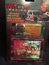 Wheels Racing 1992 - HARRY GANT - Hologram Card - Silver Series Lot Of 4