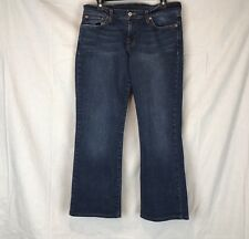 Lucky Brand Dungarees Women's Size 10  Midrise Flare