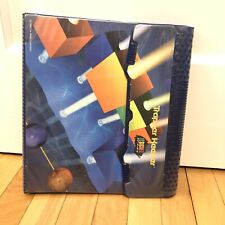 Vintage Mead Trapper Keeper Notebook Design Series 1995 Back To School College