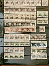 Huge Lot Transportation Series Coil Pairs & Strips, Nonprofit Bulk Presort MNH