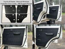 Toyota Land Cruiser 60 Series ABS Door Trim Panels. Rugged & Waterproof.