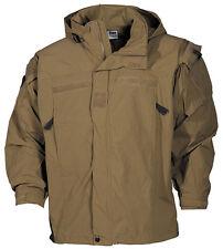 US PCU Combat Outdoor Soft Shell Jacke Jacket Coyote tan Level 5  Medium