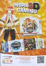 "aming Tales Of The Abyss ""Nintendo 3DS"" 2011 Magazine Advert #4391"