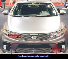 Fits Kia Forte Koup Bumper Billet Grille Insert 10-11 2011