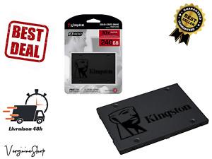 Disque Dur Interne Externe Flash SSD Kingston 240Go A400  PC Portable 2.5 SATA 3
