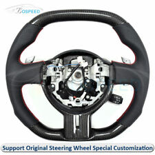 Carbon Fiber Flat Top and Bottom Customized Steering Wheel for Toyota GT86