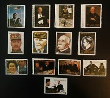 Large Lot of Middle East Fantasy & Local Stamps, All Mnh (See Photos and Descr.)