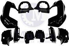 Black Lower Vented Fairing Kit for Harley Road Glide FLTR