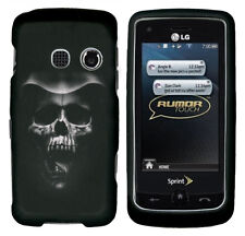 For LG Rumor Touch LN510 Banter Touch UN510 Hard Case Phone Cover Hooded Skull