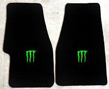 Autoteppich Fußmatten Dodge Viper GTS ACR Monster neongrün 2teilig Velours Neu